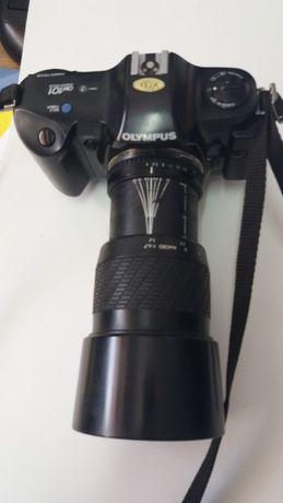 Olympus OM 101, Tripe, lentes, flash