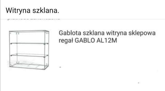 Gablota/witryna szklana