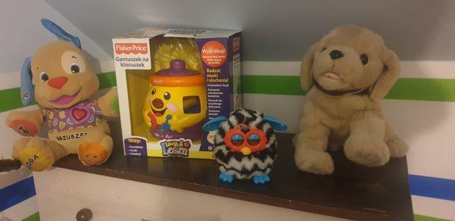 Zabawki Furby, Pies, Garnuszek