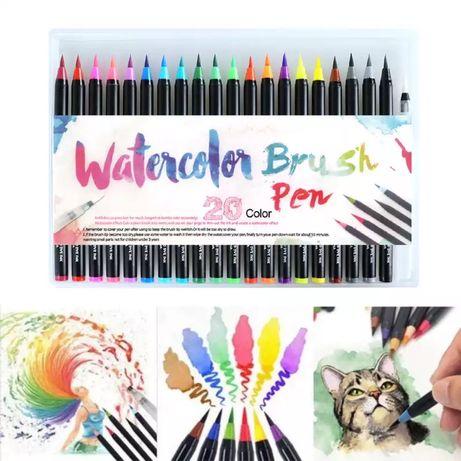 Акварельные маркеры кисти карандаши акварельні маркери для рисования
