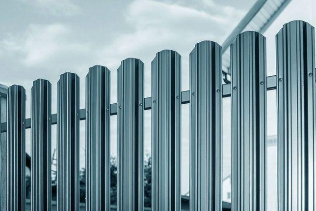 Штахети для паркану, євроштахетник для огорожі, забор