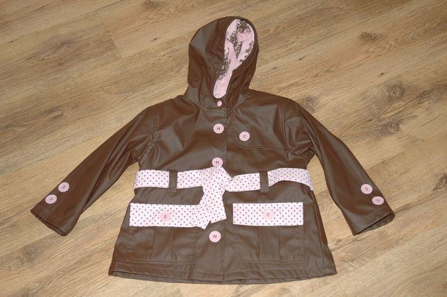 płaszczyk przeciwdeszczowy 110/116 kurtka wiosenna