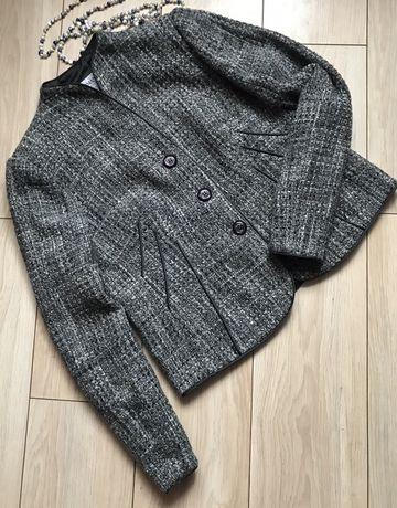 Женский твидовый пиджак Armani