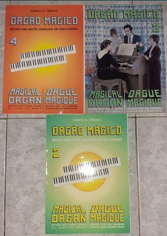 Colecionável * Órgão Mágico * Vol. 2 / 3 /4