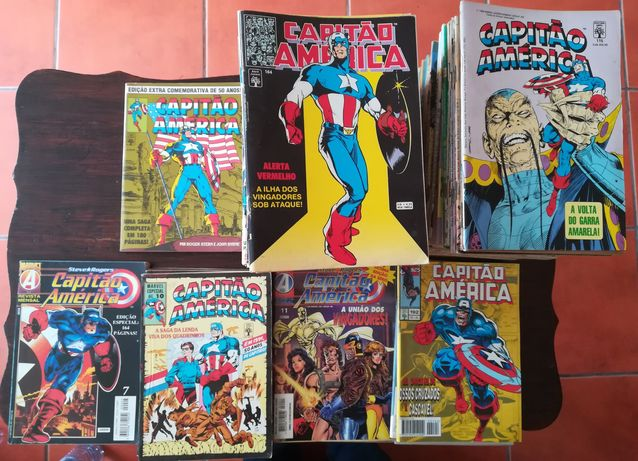 96 Livros do Capitão América