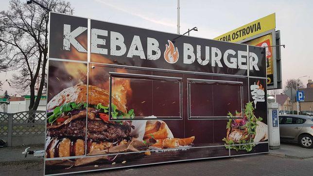 Przyczepa gastronomiczna Kebab & Burger Foodtruck gastronomia