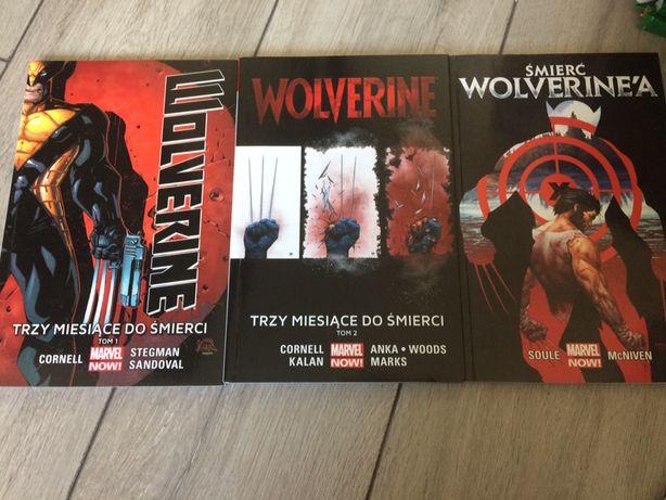 3 miesiące do śmierci Wolverine wszystkie tomy