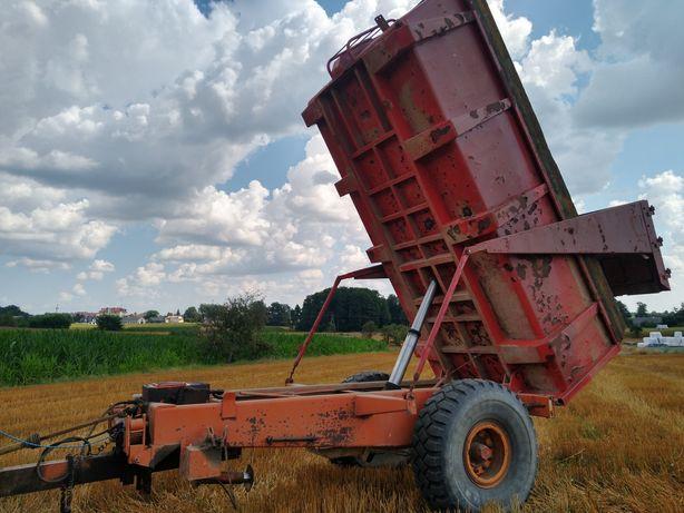 Przyczepa skorupowa skorupa Corne 10t wywrotka własna hydraulika