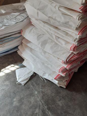 Worki big bag bagi begi na zboże 94x96x166 cm z lejkami