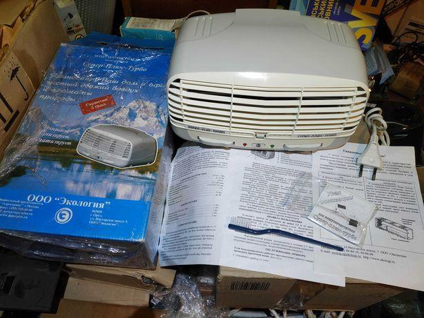 Очиститель ионизатор воздуха Супер-Плюс Турбо
