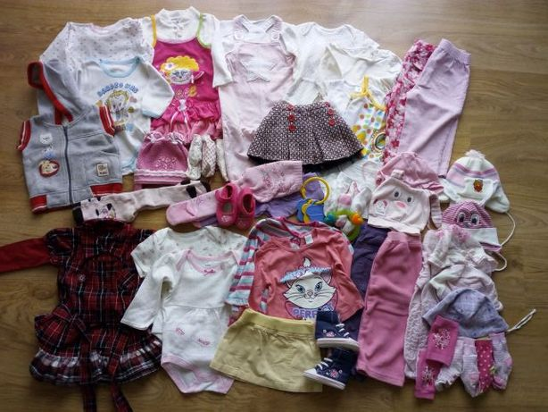 Ubranka dziecięce w roz 80-86