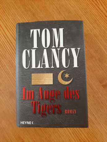 "Т. Кленси ""Зубы тигра"", на немецком"
