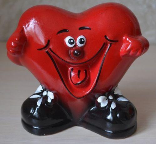 Копилка керамическая Сердце