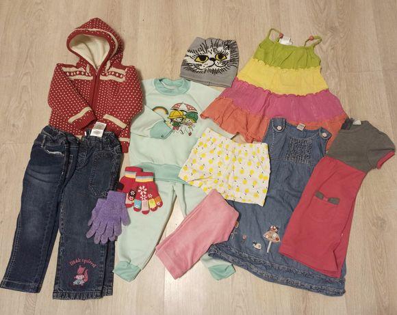 Пакет одежды для девочки 2-2,5 года