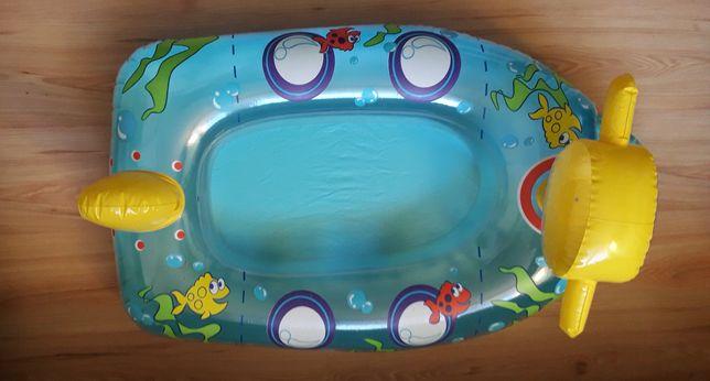 ponton basenik łódka do pływania 95 x 57cm Zabawka dmuchana dla dzieci