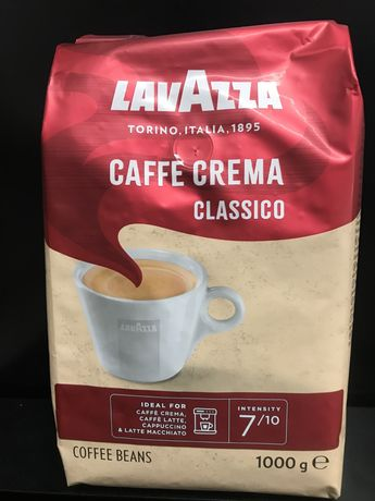 Кофе в зёрнах 1 кг, Lavazza Caffe Crema Classico