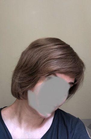 Парик натуральный (славянские волосы)