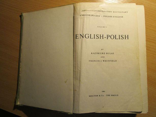Polish-English Dictionary / Kościuszko Foundation Dictionary