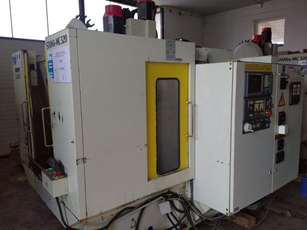 Frezarka CNC Stama MC320 2sztuki centrum obróbcze dwupaletowe fanuc