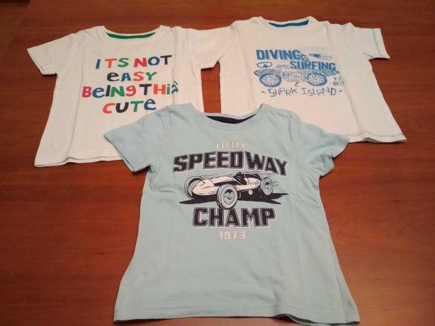T-shirts menino 2/3 anos