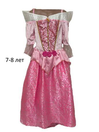 Карнавальное маскарадное костюм платье принцессы Авроры Аврора