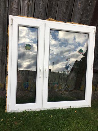 Okno, okna z demontażu białe