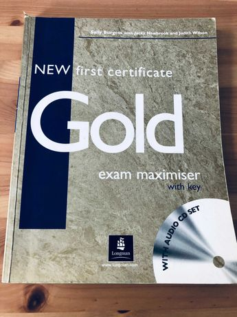 Gold New First Certificate, Exam Maximiser with key, Longman