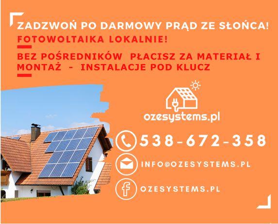 Fotowoltaika 1kw Huawei Sofar LONGI Solar Sharp Jinko Solar
