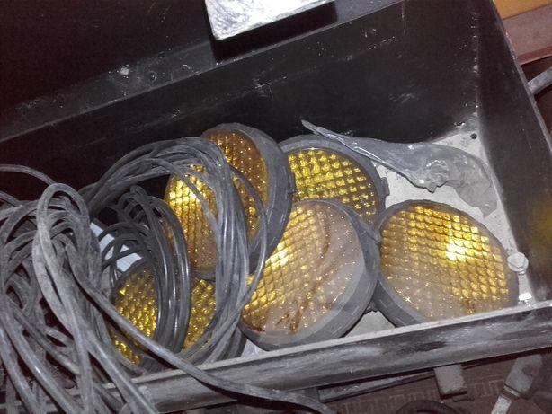 Organizacja ruchu fala świetlna 3 zestawy 12 volt na kabel kjwolta