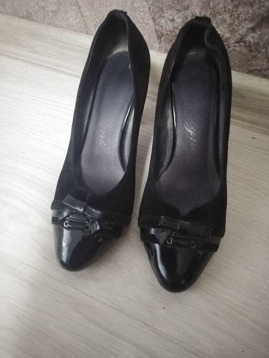 Туфли нат замша 33 р Житомир - изображение 1