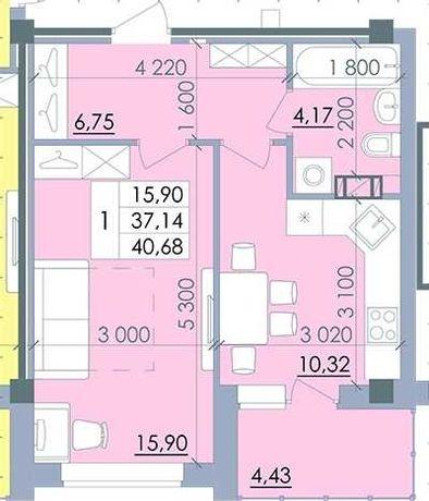 Продам квартиру в Полтаві. ЖК Пелюстковий
