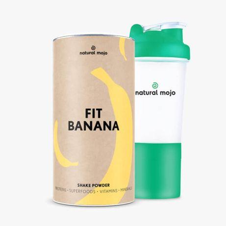 NATURAL MOJO FIT SHAKE-Zestaw Fit Banana+ shaker