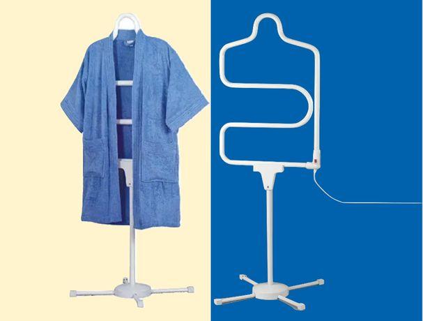 Aquecedor Secador de Toalhas Eléctrico.Seca casacos,camisas, Toalheiro