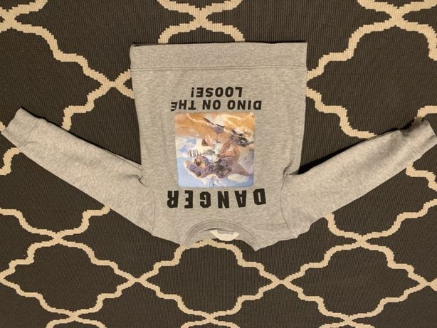 Bluza dziecięca H&M dinozaur roz 98-104