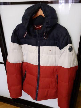 Зимняя  куртка TOMMY HILFIGER  размер XL, б/у.