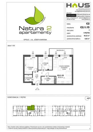 Apartamenty Natura 2! 3pokojowe z balkonem!