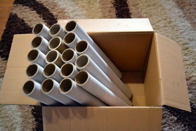 Gilzy / Tuby po folii stretch 10 sztuk Możliwa wysyłka