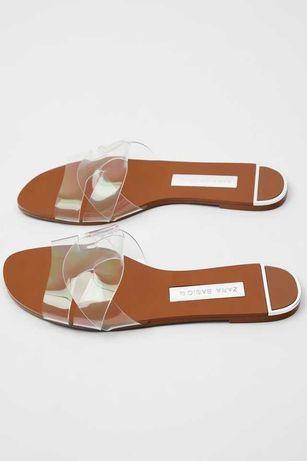 Sandálias Transparentes Zara Tam. 36 COMO NOVAS