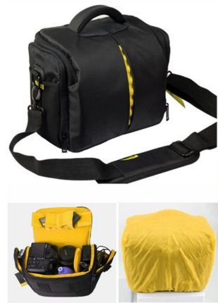 Новая сумка для фото тв видео оборудования Nikon Canon с дождевиком