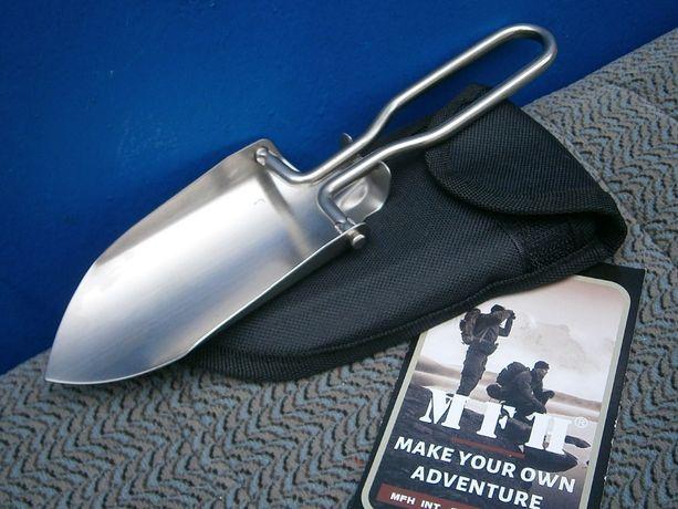 Лопатка-міні розкладна з чохлом MFH 27035. Макс Фукс. Німеччина.