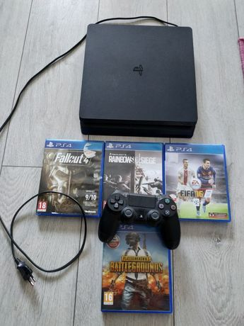 Playstation 4 Slim (PS 4 Slim) + gry