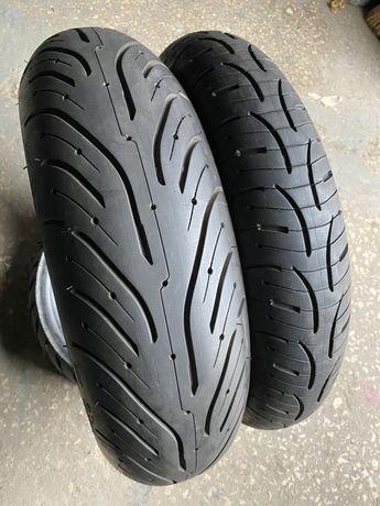 120 70 17 + 180 55 17 Michelin Road 4, моторезина, покрышка, мотошина