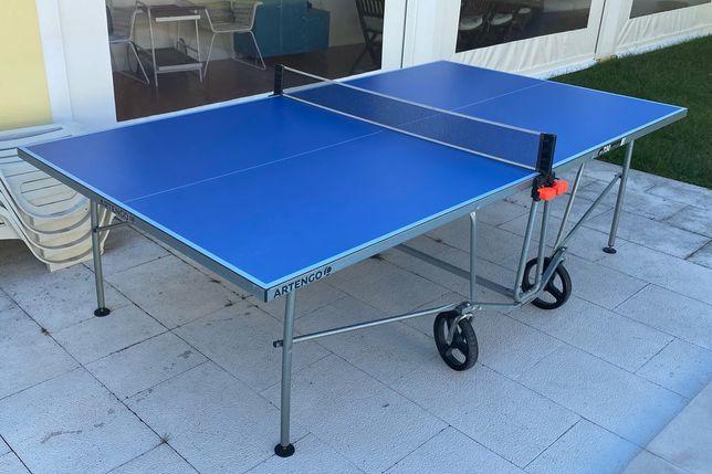 Mesa de Ping Pong Outdoor+cobertura (Decathlon)