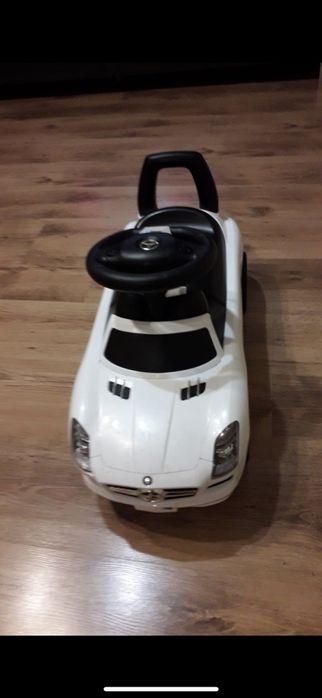 Jeździk Samochód dla dzieci MERCEDES Biały Kluczbork - image 1