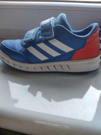 Buciki sportowe Adidas rzepy r.28 bdb stan !