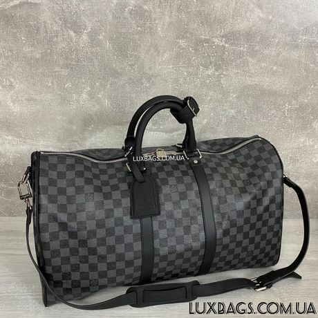 Мужская дорожная спортивная сумка Louis Vuitton Keepall Луи Виттон