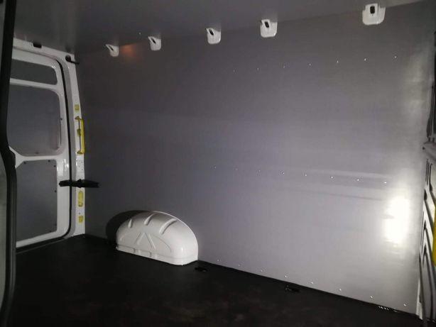 VW Crafter L4H3 Zabudowa podłogi, boków i drzwi PREMIUM