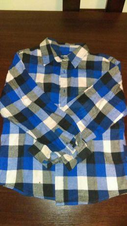 Koszula chlopieca flanelowa