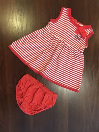 Платье Guess/Gap/Zara/Carters/Chicco трикотажное 18 месяцев 86 см
