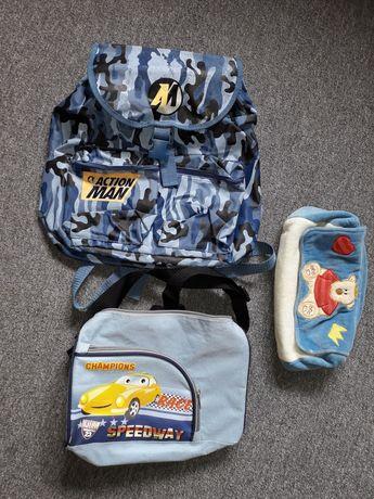 Oddam plecak torba na ramię i torebka na pampersa